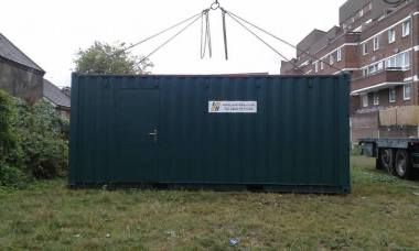 container-sited