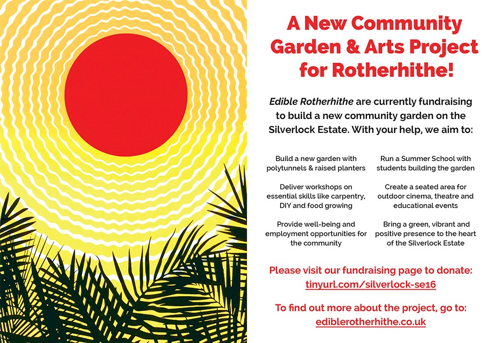 Edible Rotherhithe fundraising targetreached